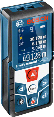 Bosch GLM 50 C Laser Distance Measurer (Bluetooth) - goldapextools