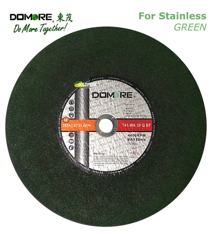 "Domore Cut-Off Disc / Wheel 14"" for Stainless Steel"