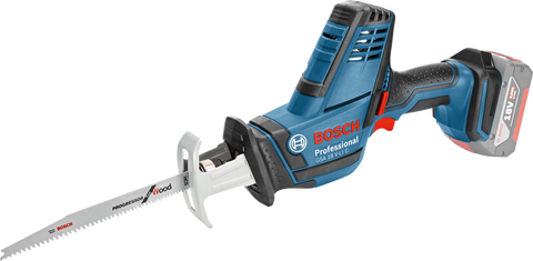 Bosch GSA 18 V-Li C Cordless Sabre / Reciprocating Saw (Bare Tool) (C-Variant) - goldapextools