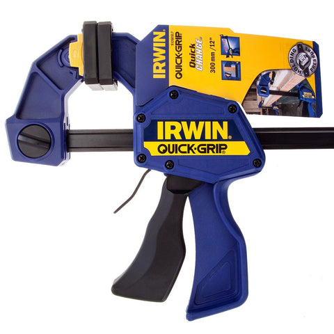 IRWIN QUICK-CHANGE ONE-HANDED BAR CLAMP - goldapextools