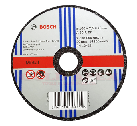 "Bosch Cutting Disc 4"" for Metal (25 pcs) - goldapextools"