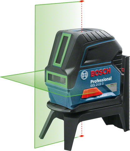 Bosch GCL 2-15 G Combi Laser with Plumb Points - goldapextools
