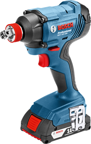 Bosch GDX 180-Li Cordless Impact Wrench / Impact Driver (2in1) - goldapextools