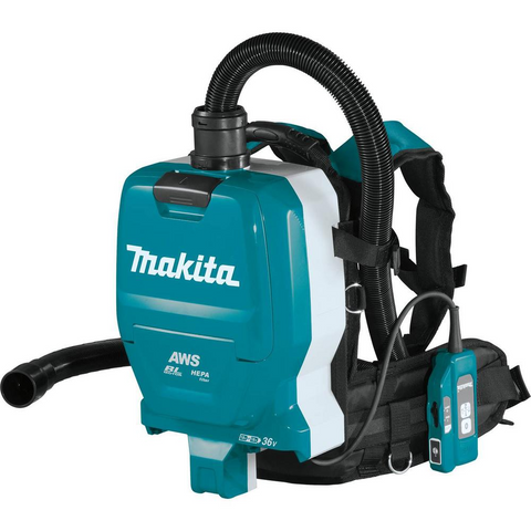 Makita DVC265ZX 36V Cordless Brushless Backpack Vacuum Cleaner (LXT-Series) [Bare Tool]