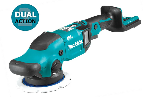 Makita DPO600Z 18V Brushless Cordless Random Orbit / Dual Action Polisher (LXT-Series) [Bare Tool]