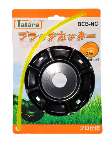 Tatara BCB-NC String Trimmer Head Black Cutter for Brush Cutter