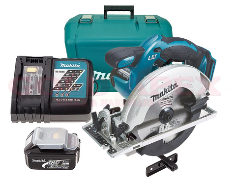 Makita DSS611RF 18V Cordless Circular Saw (LXT-Series)