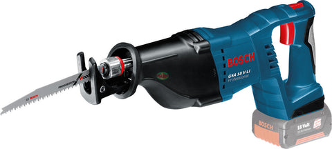 Bosch GSA 18 V-Li Cordless Sabre / Reciprocating Saw (Bare Tool) - goldapextools