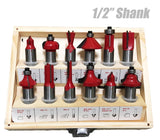 Mailtank SH-121 Router Bit Set (12pcs)