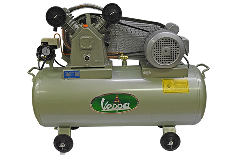 Vespa 1HP Air Compressor Belt Driven
