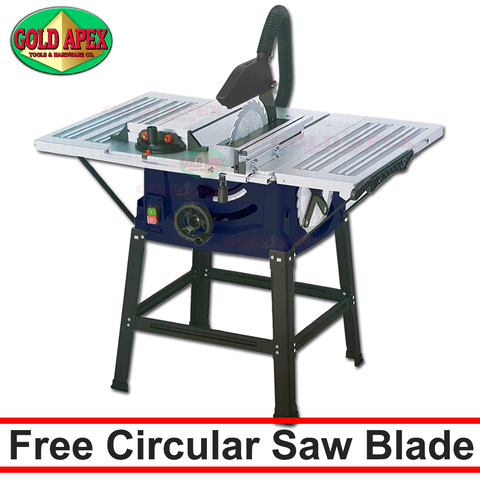 "Crosse CT82501 Table Saw 10"" - goldapextools"