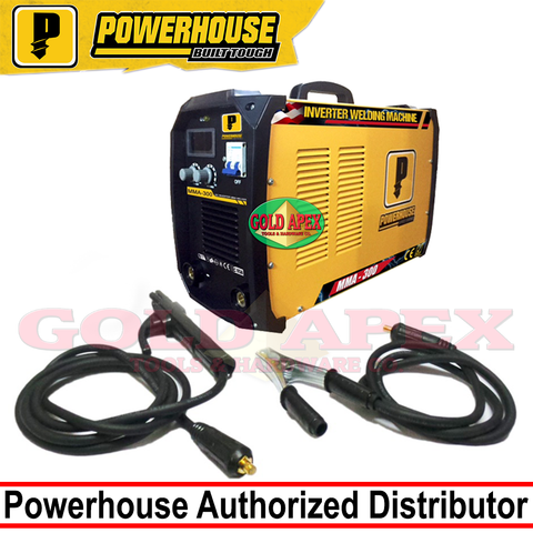 Powerhouse DC Inverter Welding Machine 300A - goldapextools