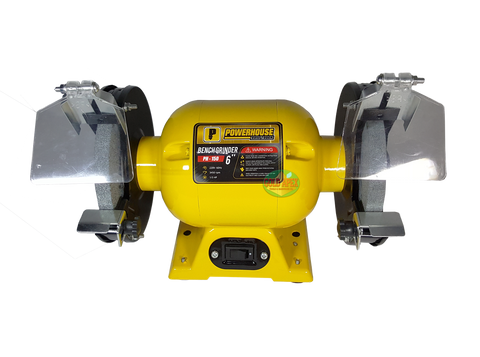 "Powerhouse PH-150 6"" Bench Grinder - goldapextools"