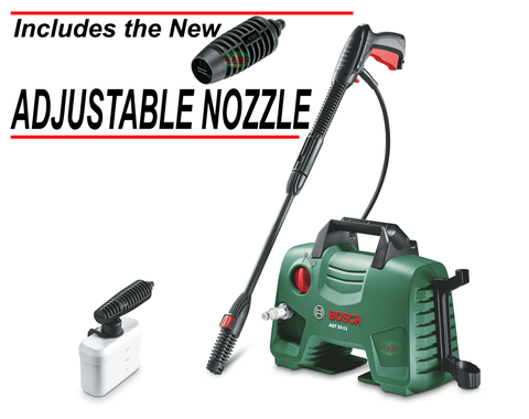 Bosch AQT 33-11 Portable High Pressure Washer w/ ADJUSTABLE NOZZLE - goldapextools