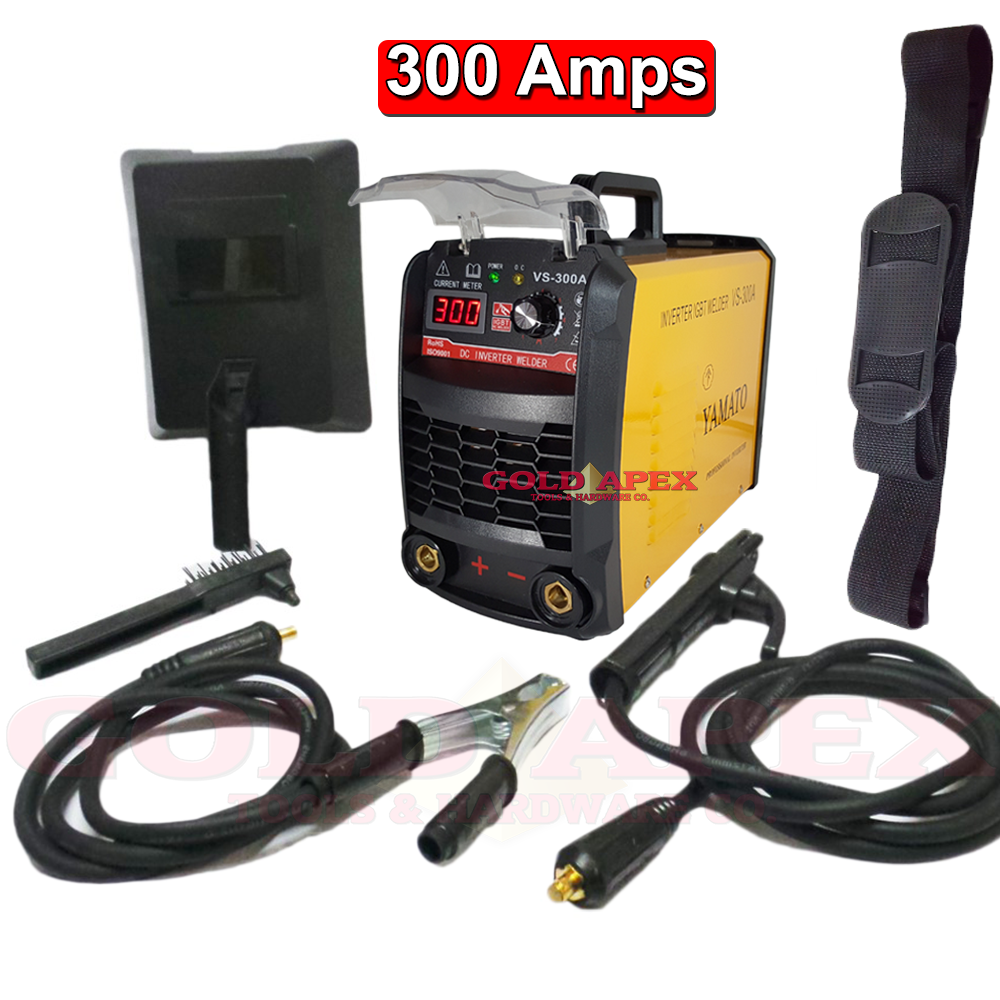 Yamato Arc 300v Vs 300a Digital Inverter Welding Machine