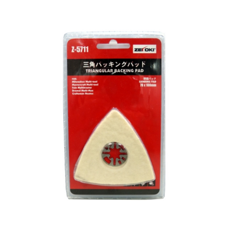 Zekoki Z-5711 Triangular Backing Pad