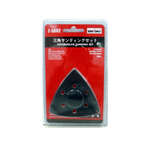 Zekoki Z-5802 Triangular Sanding Set