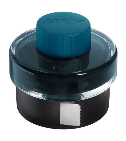 Lamy Ink - T52 Fountain Pen Ink Petrol Limited Edition - 50 ml | Skribr