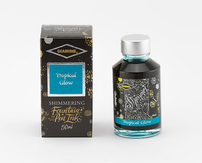 Diamine Shimmering Ink - Tropical Glow - 50 ml