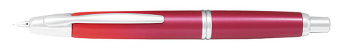 Pilot Capless Fountain Pen (Vanishing Point) Limited Edition Crimson Sunrise - Fine Nib