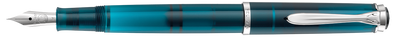 Pelikan Classic M205 Aquamarine Limited Edition Medium Nib | Skribr