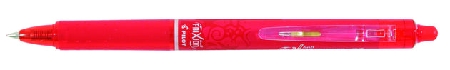 Pilot Frixion Clicker Erasable Gel Pen BLRT-FR7-B Red - Skribr
