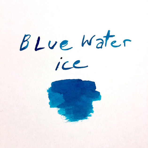Robert Oster Signature Ink Range - Blue Water Ice | Skribr