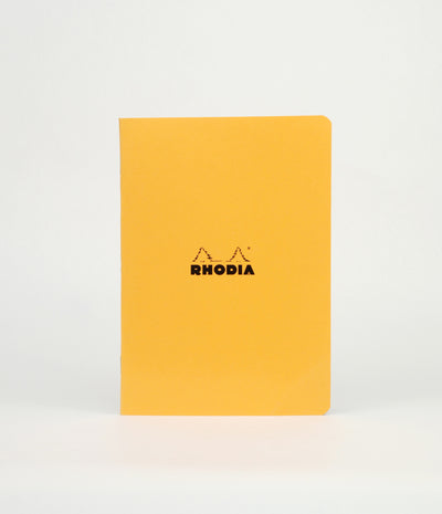 Rhodia Cahier Notebook - Ruled - A5 - Orange - Skribr - 1