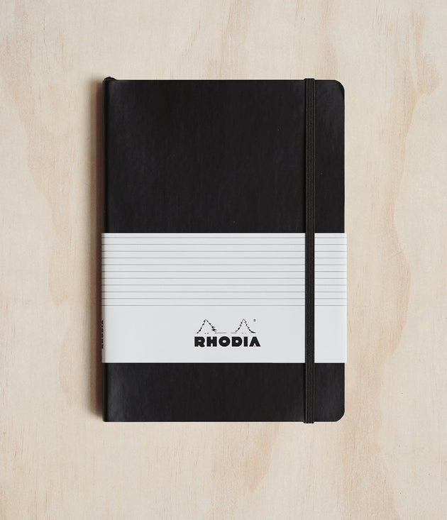 Rhodia Professional Notebook A5 Black - Skribr - 1