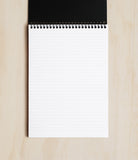 Rhodiactive Wire Bound Notepad Ruled A5 Black | Skribr