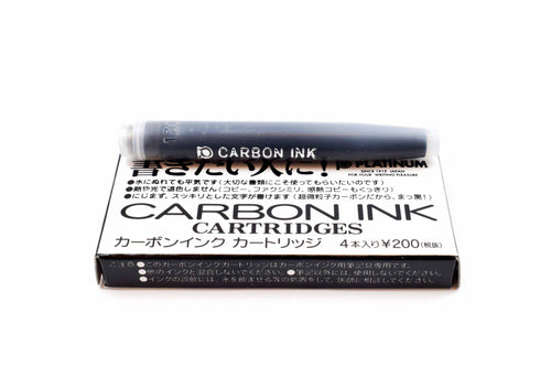 Platinum Carbon Ink Cartridges - Black | Skribr