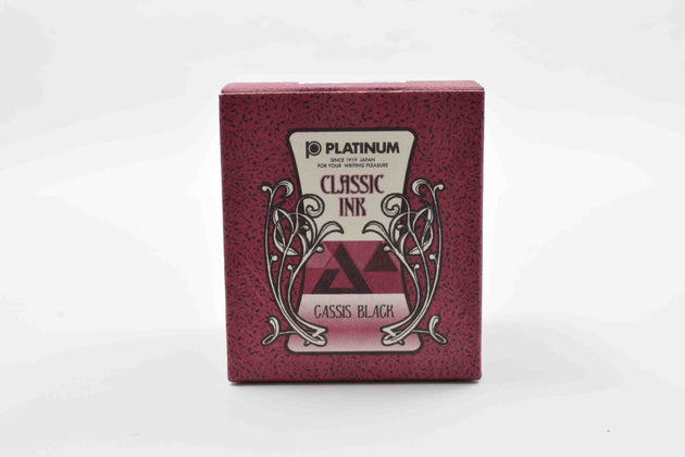 Platinum Classic Fountain Pen Ink 60ml - Cassis Black | Skribr