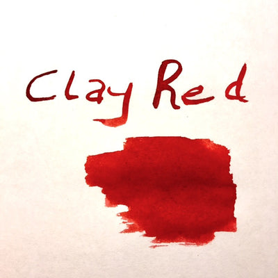 Robert Oster Signature Ink Range - Clay Red | Skribr