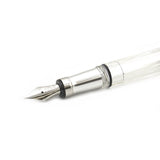 TWSBI Diamond 580AL Silver Fountain Pen - Broad Nib - Skribr - 2