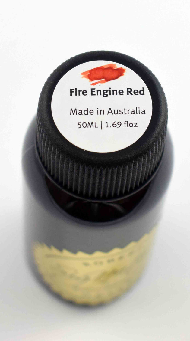 Robert Oster Signature Ink Range - Fire Engine Red - Skribr - 2