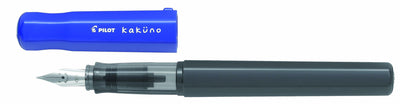 Pilot Kakuno Fountain Pen - Blue with Medium Nib - Skribr - 1