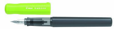 Pilot Kakuno Fountain Pen - Lime Green with Medium Nib - Skribr - 1