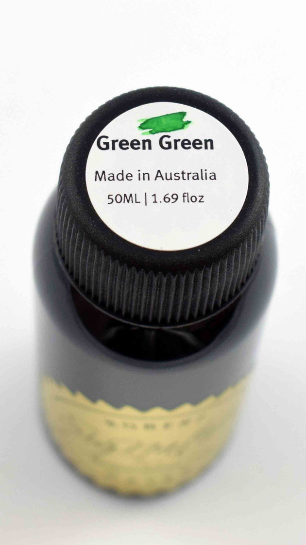 Robert Oster Signature Ink Range - Green Green - Skribr - 2