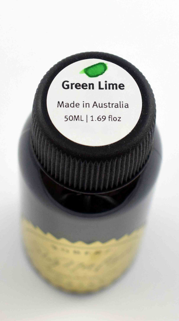 Robert Oster Signature Ink Range - Green Lime - Skribr - 2