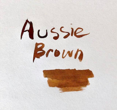 Robert Oster Signature Ink Range - Aussie Brown