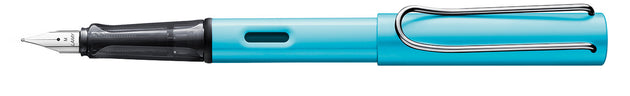 Lamy AL-Star Fountain Pen Pacific - Limited Edition - Medium Nib
