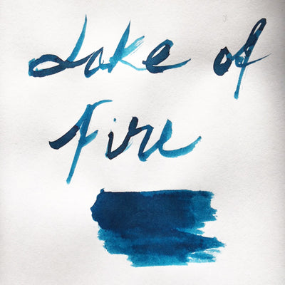 Robert Oster Signature Ink Range - Lake of Fire