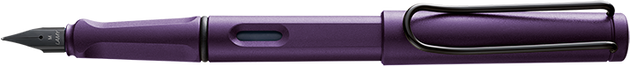Lamy Safari Fountain Pen Dark Lilac - Medium Nib - Skribr - 1