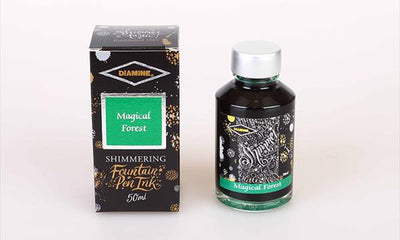 Diamine Shimmering  Ink - Magical Forest | Skribr