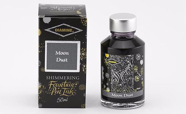 Diamine Shimmering  Ink - Moondust Shimmer - 50 ml - Skribr