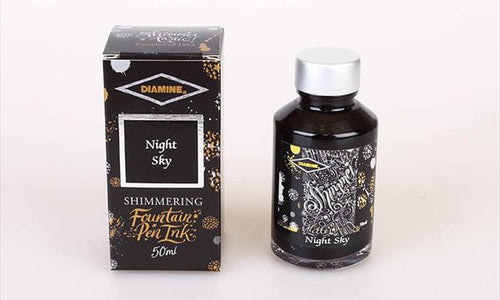 Diamine Shimmering  Ink - Night Sky | Skribr