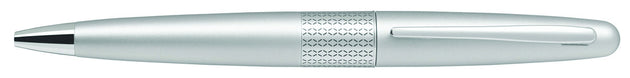 Pilot MR Ballpoint Pen Silver Barrel - Medium Tip - Skribr
