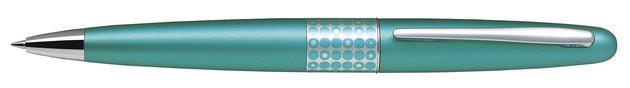 Pilot MR Ballpoint Pen Dots Aqua - Medium Tip - Skribr