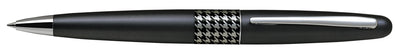 Pilot MR Ballpoint Pen Houndstooth Black Barrel - Medium Tip - Skribr