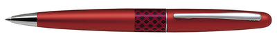 Pilot MR Ballpoint Pen Houndstooth Eclipse Wave Red - Medium Tip - Skribr